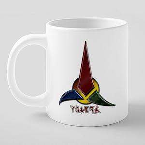 Klingon symbol 20 oz Ceramic Mega Mug