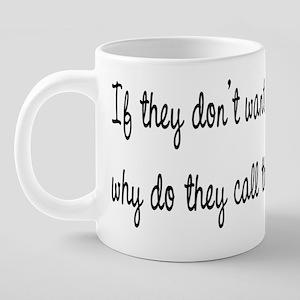 Greys alarm 20 oz Ceramic Mega Mug