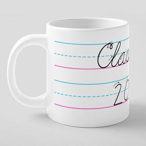 classof2009circle 20 oz Ceramic Mega Mug