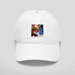 Blue Shark Fin Frame1264914815 Banners Hats - CafePress