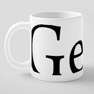 Geekb 20 oz Ceramic Mega Mug