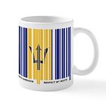 Respect My Roots - Barbados Mug