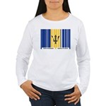 Respect My Roots - Barbados Women's Long Sleeve