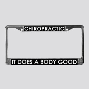 Chiropractic License Plate Frame