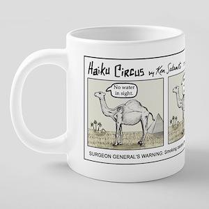 haikucircus_camel 20 oz Ceramic Mega Mug