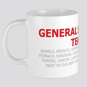GENERAL TEAM 2 20 oz Ceramic Mega Mug