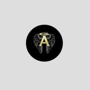 Archangel Wings Mini Button