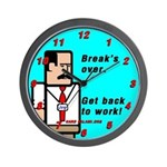 Hard Salami Wall Clock