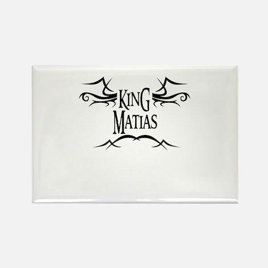 King Matias Rectangle Magnet