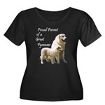 Proud Parent of a Great Pyr Women's Plus Size Scoo