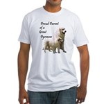 Proud Parent of a Great Pyr Fitted T-Shirt
