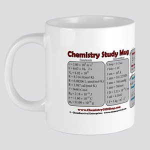 Chemistry Study Tables 20 oz Ceramic Mega Mug