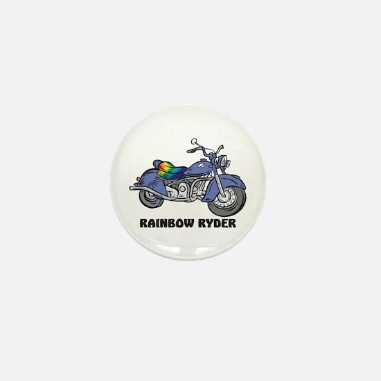 Rainbow Ryder Mini Button