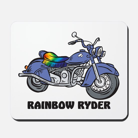 Rainbow Ryder Mousepad
