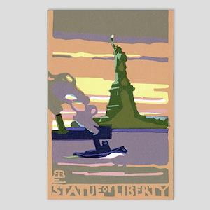 Vintage Travel Poster New York City Postcards (Pac