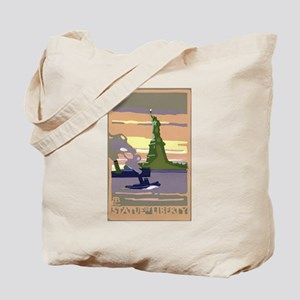 Vintage Travel Poster New York City Tote Bag