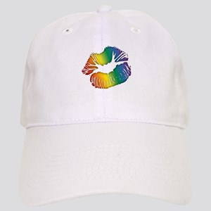 Big Rainbow Lips Cap
