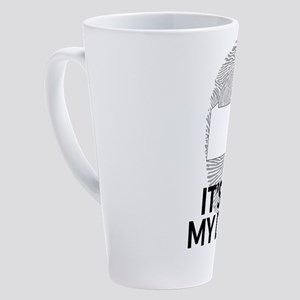 Pennsylvania DNA Shirt for People 17 oz Latte Mug