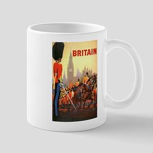 Vintage Travel Poster, Britain Mug