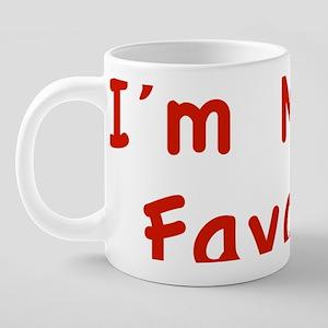 momsFavor1C 20 oz Ceramic Mega Mug