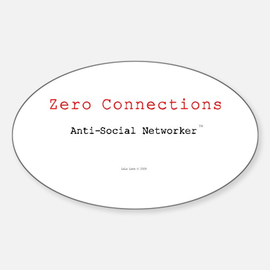 ZeroConnections Oval Decal