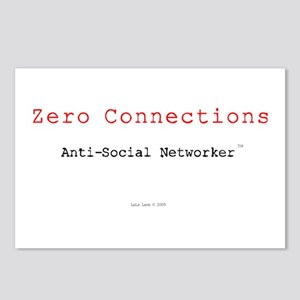 ZeroConnections Postcards (Package of 8)