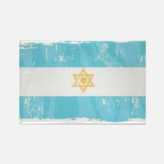 Cute Jewish flag Rectangle Magnet