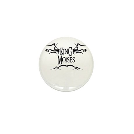 King Moises Mini Button (10 pack)
