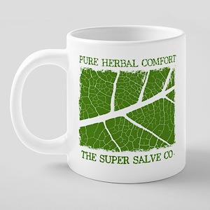 mug Pure Herbal Right hande 20 oz Ceramic Mega Mug