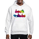 Deaf Pride Rainbow Hooded Sweatshirt