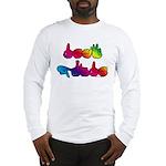 Deaf Pride Rainbow Long Sleeve T-Shirt