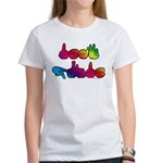 Deaf Pride Rainbow Women's T-Shirt