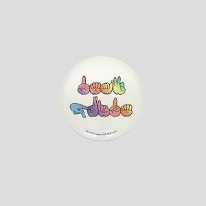 Deaf Pride Pastel Mini Button