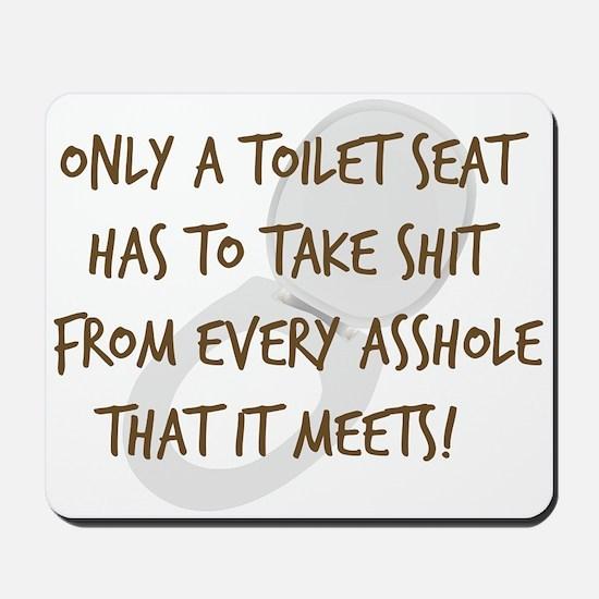 Toilet Seat Mousepad