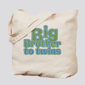 Big Brother to Twins Tote Bag