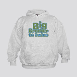 Big Brother to Twins Kids Hoodie