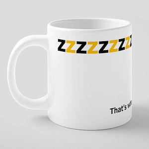 BeeSaid 20 oz Ceramic Mega Mug