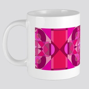 pinkstarmug 20 oz Ceramic Mega Mug