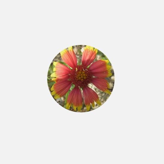 Cute State flower Mini Button