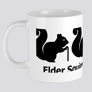 Elder Squirrels 20 oz Ceramic Mega Mug