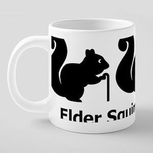Elder Squirrels 20 oz Ceramic Mega Mug
