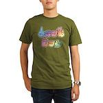 DEAF CAN Pastel Organic Men's T-Shirt (dark)