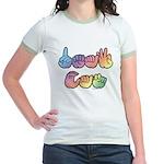 DEAF CAN Pastel Jr. Ringer T-Shirt