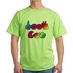 DEAF CAN Rainbow Green T-Shirt