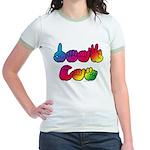 DEAF CAN Rainbow Jr. Ringer T-Shirt
