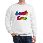 DEAF CAN Rainbow Sweatshirt