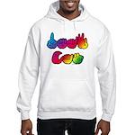 DEAF CAN Rainbow Hooded Sweatshirt