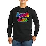 DEAF CAN Rainbow Long Sleeve Dark T-Shirt