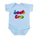 DEAF CAN Rainbow Infant Bodysuit