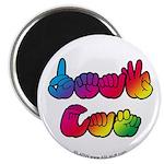 DEAF CAN Rainbow Magnet